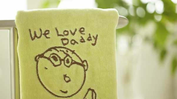towels, embroidery, humor