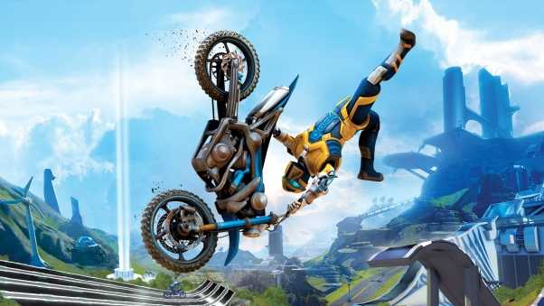 trials fusion, arcade, motorcycle
