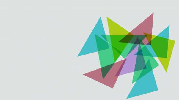 triangles, shapes, colorful