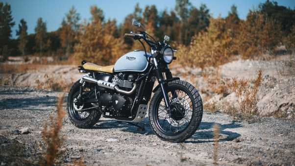 triumph, bonneville, bike
