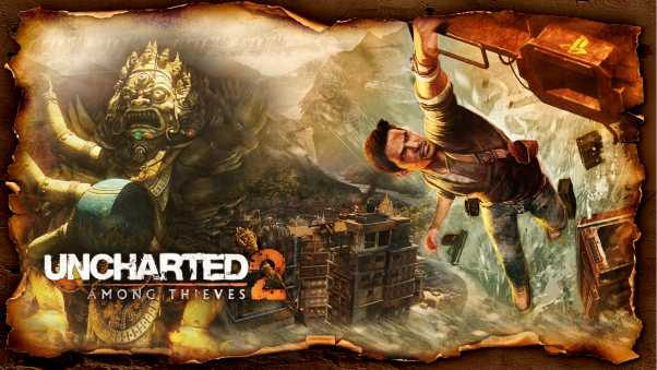 uncharted 2 among thieves, city, graphics