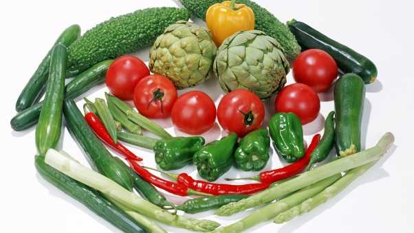 vegetables, pepper, cucumbers