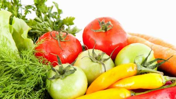 vegetables, tomatoes, greens