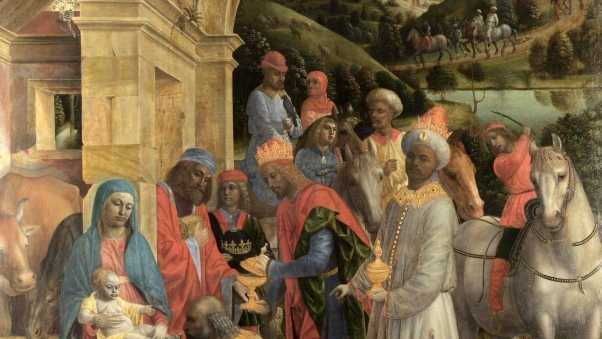 vincenzo foppa the adoration of the kings, painting, oil
