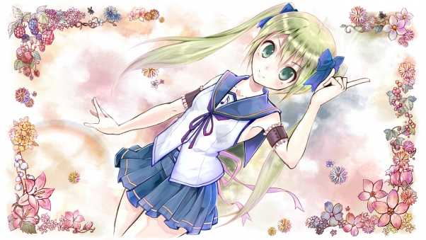 vocaloid hatsune miku, girl, blonde
