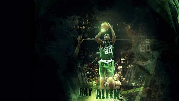 walter ray allen, basketball, player