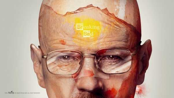 walter white, breaking bad, art
