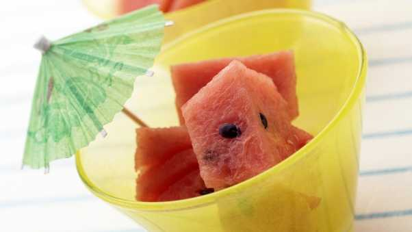 watermelon, food, sliced