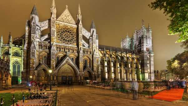 westminster abbey, london, building