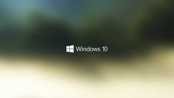 windows 10, logo, operating system