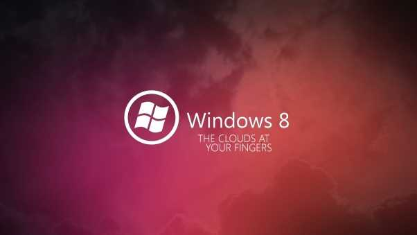 windows 8, pink, red