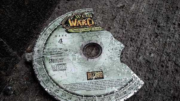 world of warcraft, disk, cover