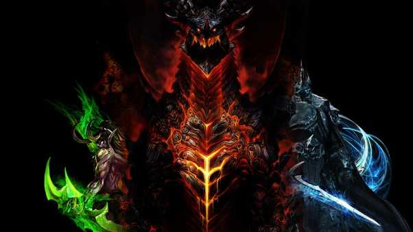 world of warcraft, dragon, characters