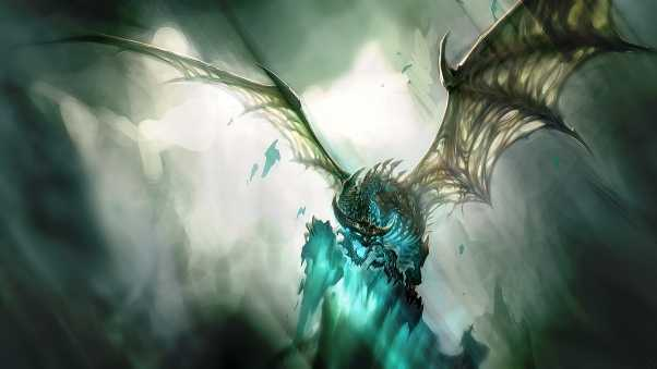world of warcraft, dragon, wings