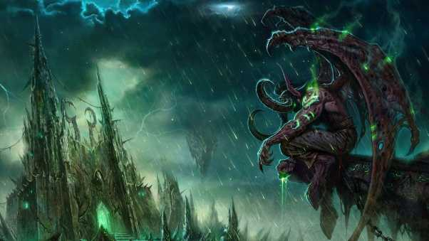 wow, illidan, world of warcraft