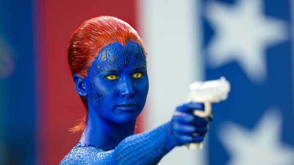 x-men days of future past, mystique, jennifer lawrence