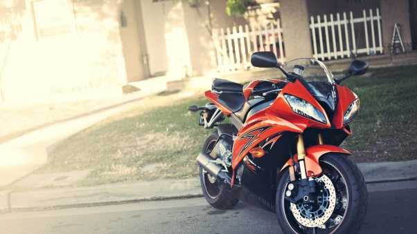 yamaha, yzf-r6, red