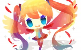 Anime girl Vocaloid 4K