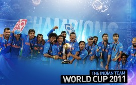 India Team World Cup 2011