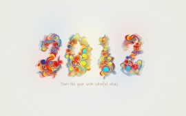 2012 Colorful New Year
