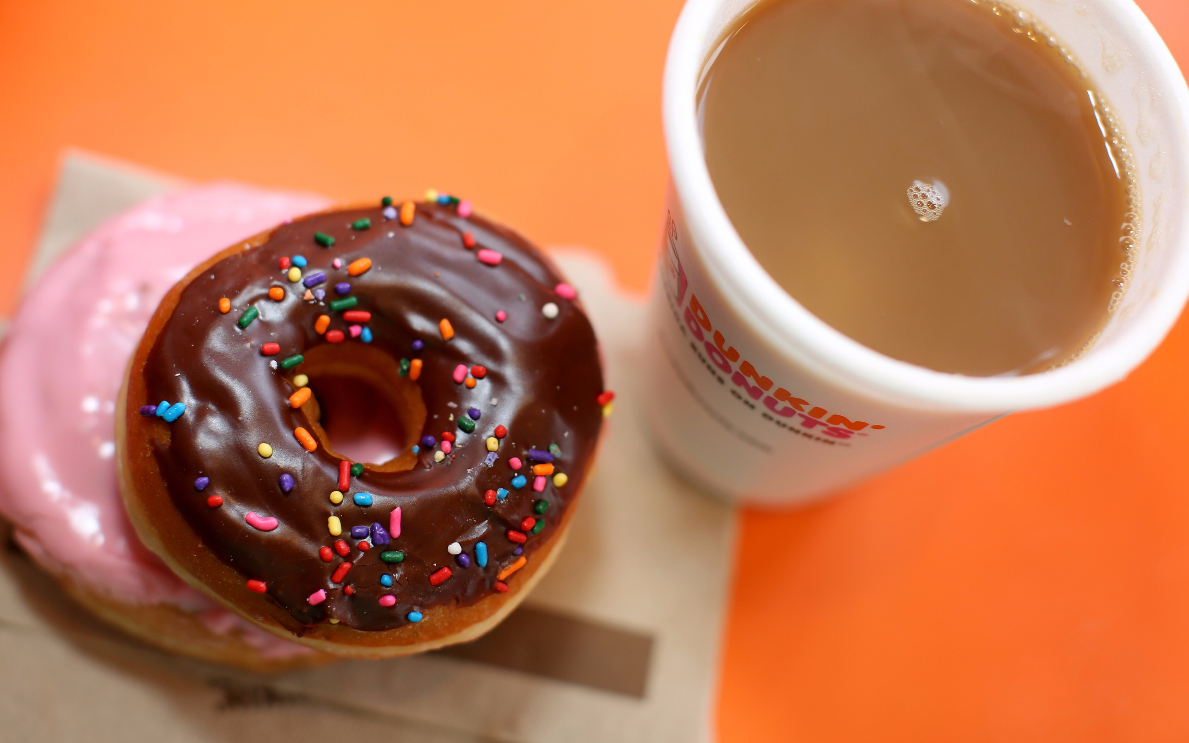 dunkin donuts, donuts, coffee