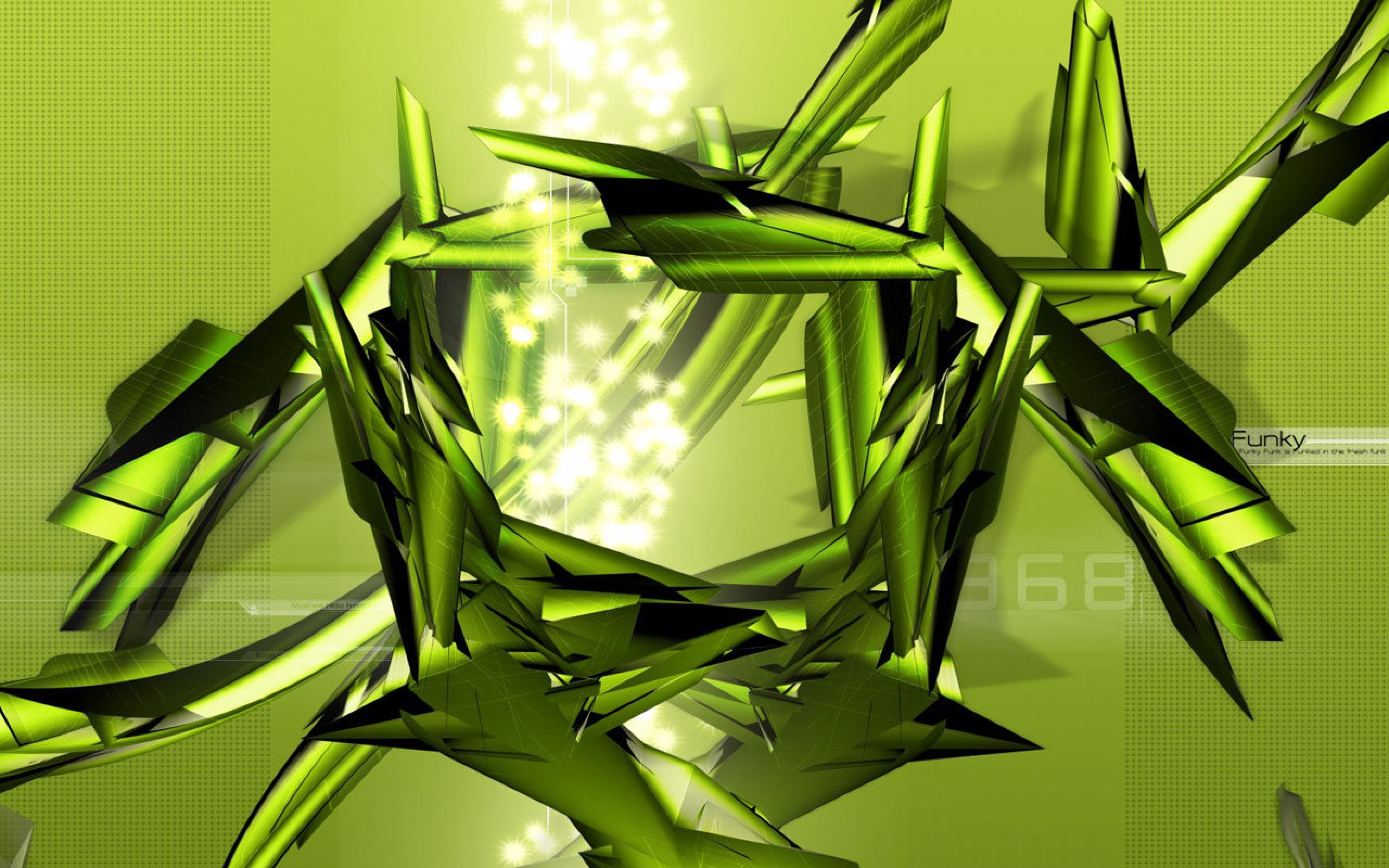 green, iron, light