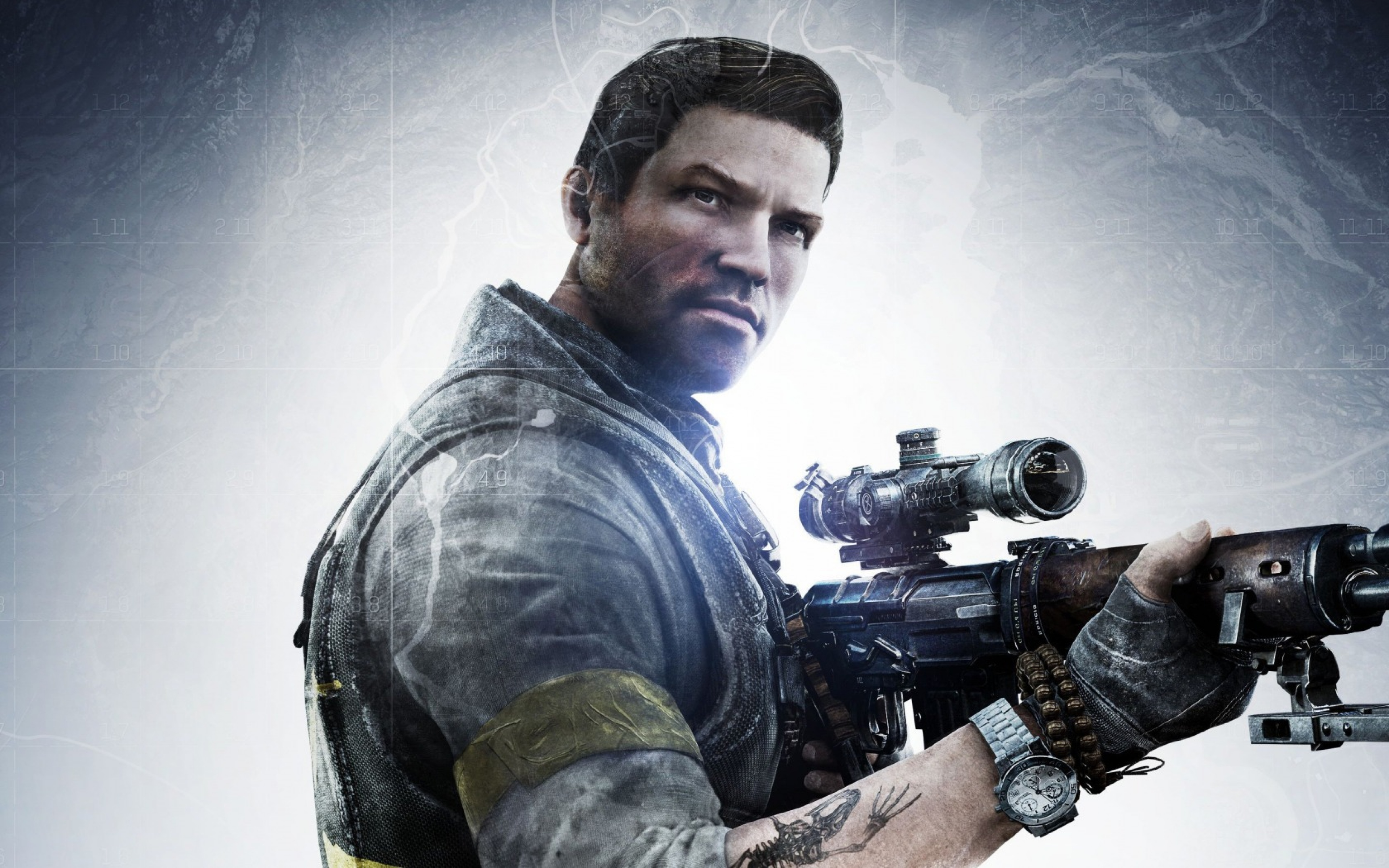 sniper, ghost warrior 3, weapon